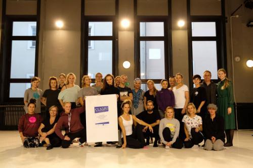 External seminar on Dance training, Polish Dance Theater, October 2019