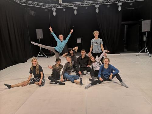 internal dance training CLASH 11